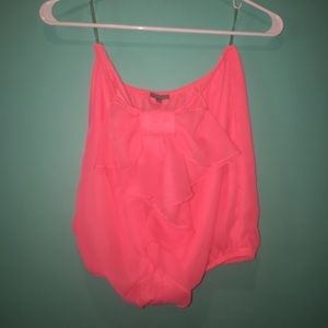 Crop Top With Bow on Front